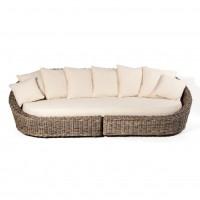 """Sofa """"Ambon"""", natur, L 130 cm, B 270 cm, H 78 cm"""