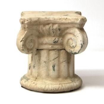 """Blumenpodest """"Rom S"""", aus Keramik, L 16 cm, B 16 cm, H 17 cm"""