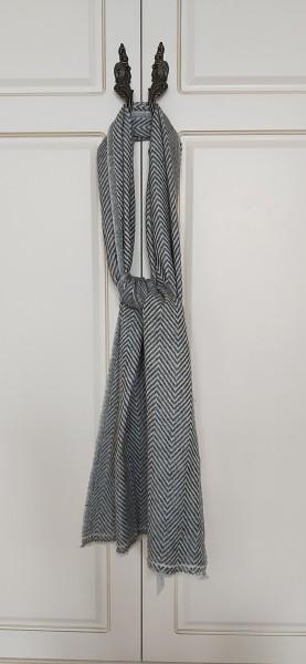 Wollschal 'Fenja', natur, T 180 cm, B 36 cm