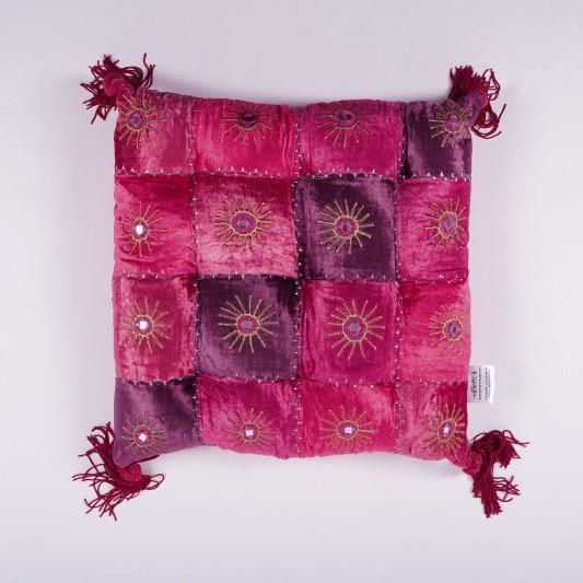 """Sitzkissen """"Rayon"""", pink, L 40 cm, B 40 cm"""
