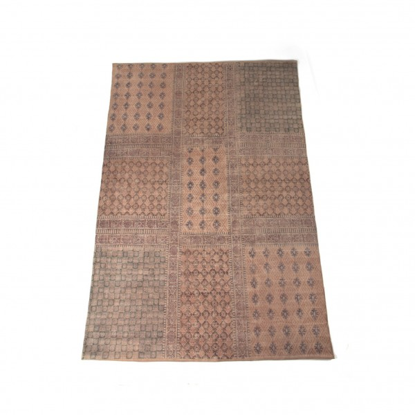"""Teppich """"Silvassa"""", handbedruckt, L 200 cm, B 140 cm"""