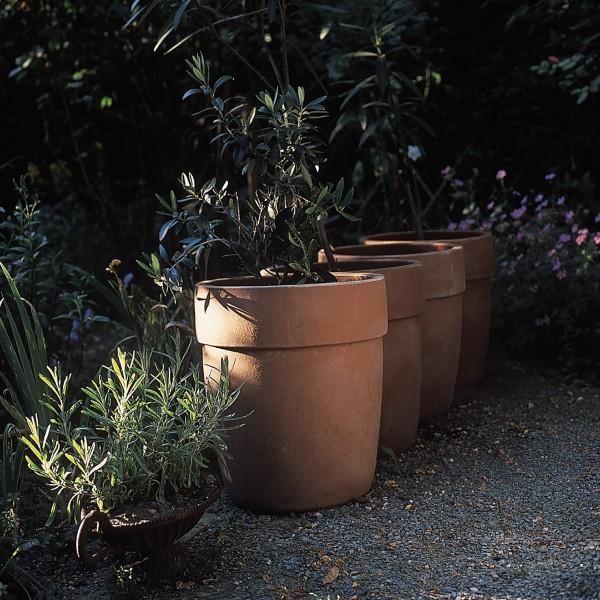 Pflanztopf, terracotta, H 25 cm, Ø 24,5 cm