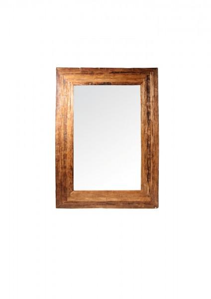 Spiegel Leimholzoptik, natur, T 3 cm, B 110 cm, H 160 cm
