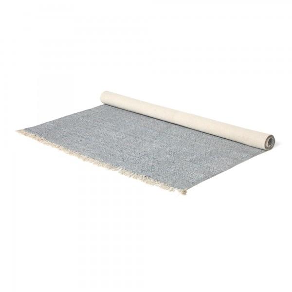 Teppich 'Jat', grau, T 140 cm, B 200 cm