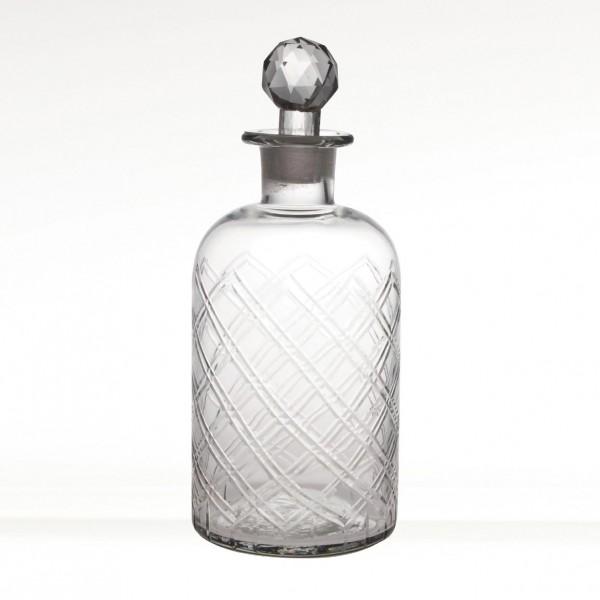 "Glasflakon ""Nadi"", H 20 cm, Ø 12 cm"