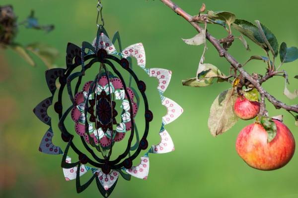Windspiel 'Montapis', multicolor, Ø 20 cm, H 20 cm