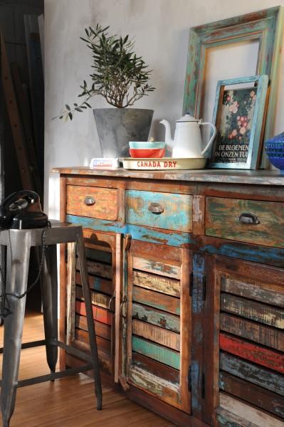 Sideboard 'Jarrow', multicolor, L 45 cm, B 182 cm, H 90 cm