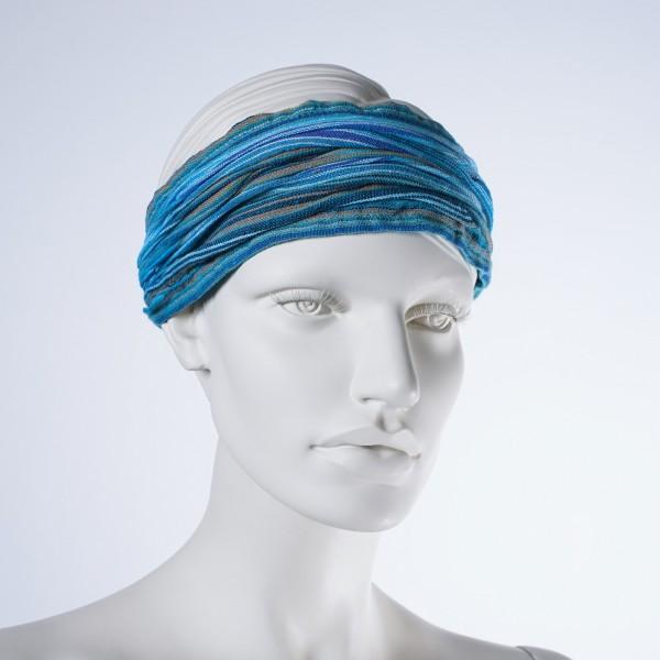 "Haarband ""Miami"", aus 100% Baumwolle, blau"