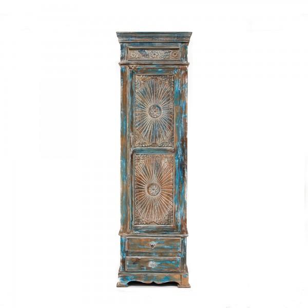 Schrank 'Surya', hellblau, T 40 cm, B 59 cm, H 203 cm