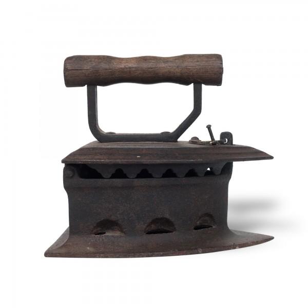 Iron Press, rost, T 20 cm, B 16 cm, H 16 cm