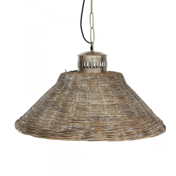 Lampe 'Bambus', braun, Ø 65 cm, H 35 cm