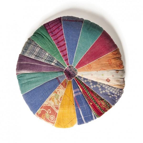 """Sitzkissen """"Chili"""", multicolor, H 12 cm, Ø 56 cm"""