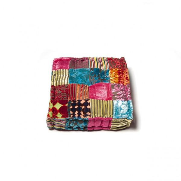 """Sitzkissen """"Anand"""", multicolor, L 40 cm, B 40 cm, H 10 cm"""