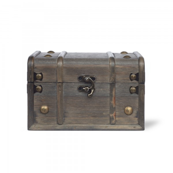 Holztruhe 'Lualeni' S, braun, T 18 cm, B 11 cm, H 11 cm