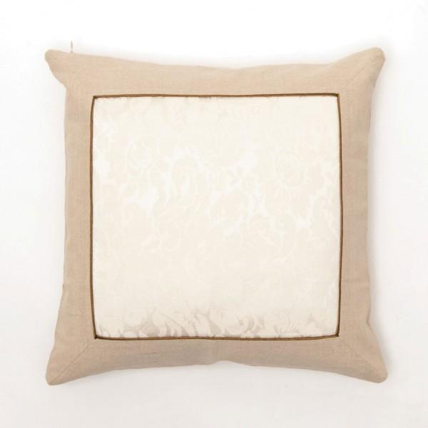 """Kissenhülle """"Paisley"""", beige/creme, L 45 cm, B 45 cm"""