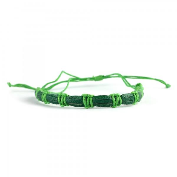 Armband 'Carson', grün, T 4,5 cm, B 4,5 cm