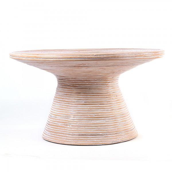 Tisch, weiß, Ø 80 cm, H 45 cm