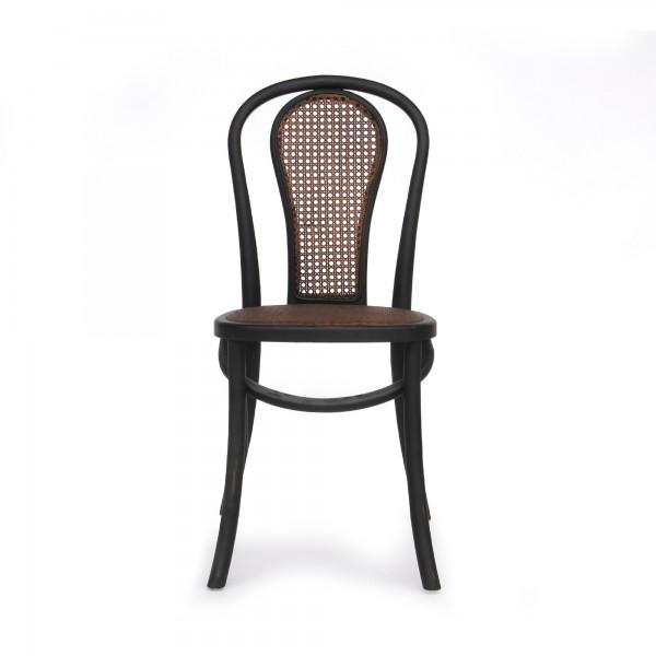 Stuhl 'Ales', schwarz, T 40 cm, B 40 cm, H 90 cm