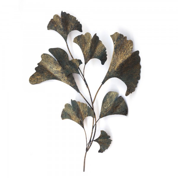 Ginkoblätter 'Gingko', T 4 cm, B 70 cm, H 95 cm