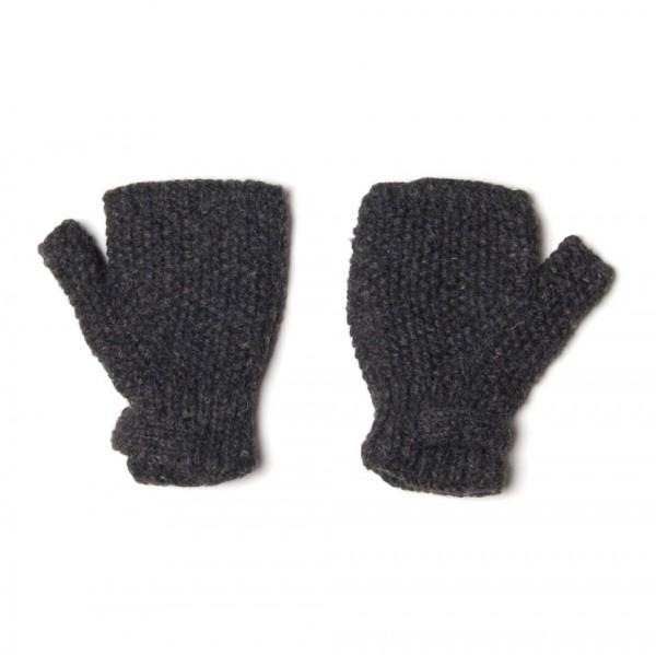 Handschuhe, anthrazit/grau, ohne Finger