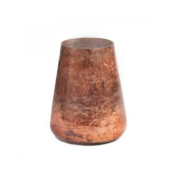 Windlicht 'Cuivre', kupfer, Ø 14 cm, H 16 cm