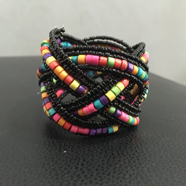 "Armband ""Darkness Atom"", multicolor"
