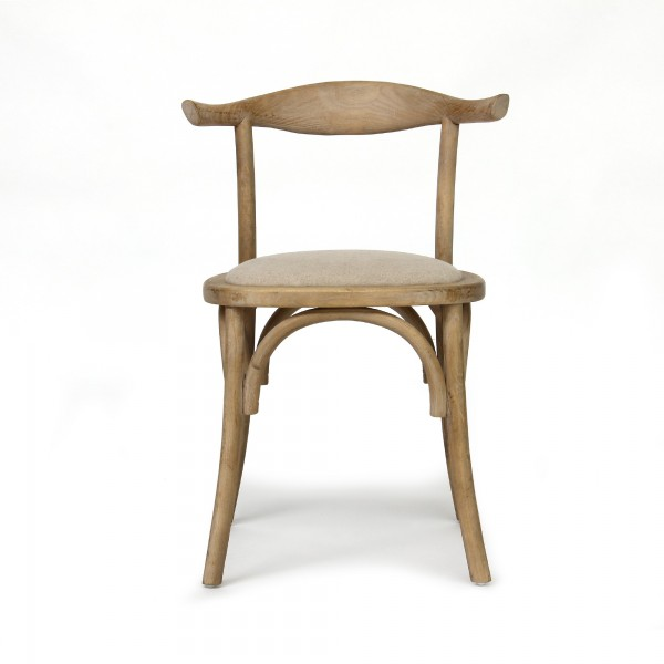 Stuhl 'Marmande', braun, T 49 cm, B 53 cm, H 77 cm
