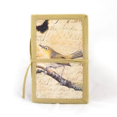 "Notizbuch ""Avatara"" aus handgeschöpftem Papier, B 10 cm, H 15 cm"