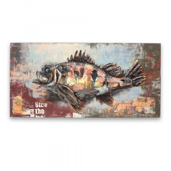 Wandbild 'The Perch', multicolor, T 6 cm, B 120 cm, H 60 cm