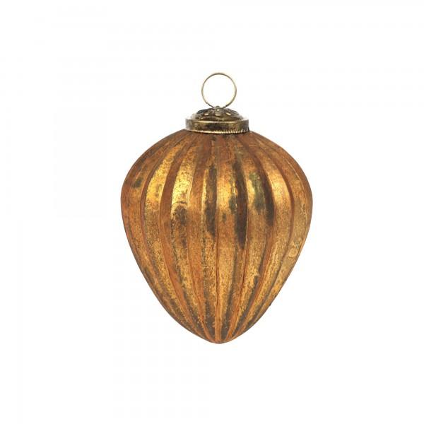 Anhänger Diamant, gold, T 10 cm, B 10 cm, H 10 cm