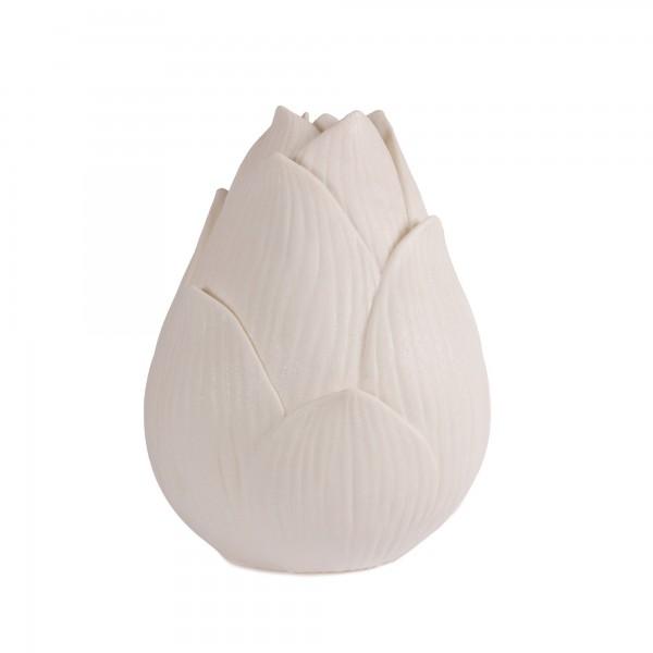 Leuchte 'Lotus', off-white, Ø 31 cm, H 40 cm