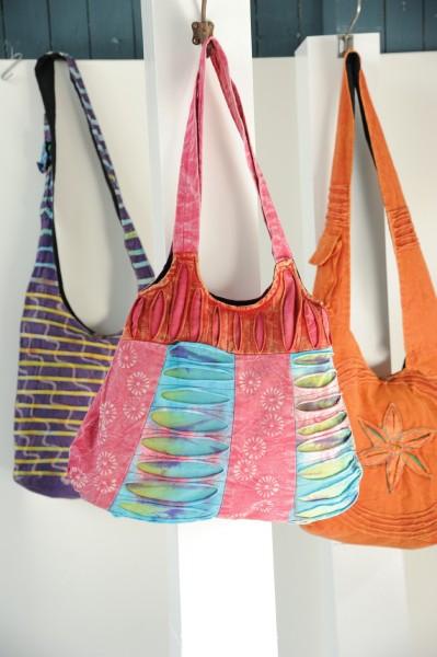 """Cross-Over-Bag """"Sangkalpa"""", multicolor, B 36 cm, H 30 cm"""