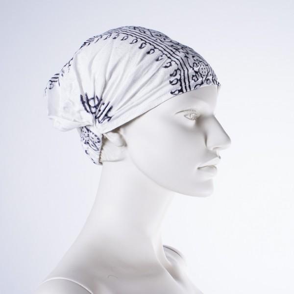 """Haarband """"Chicago"""", aus 100% Baumwolle, weiß"""