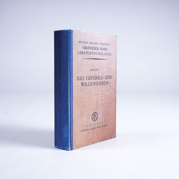 """Buch-Tresor """"Das Gefühls- und Willensleben"""", L 5 cm, B 16 cm, H 24 cm"""