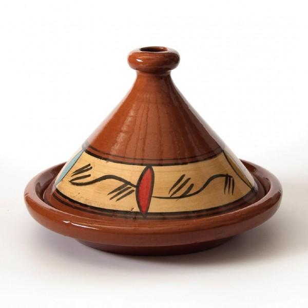 Tajine 'Tanger', braun, H 25 cm, Ø 34 cm
