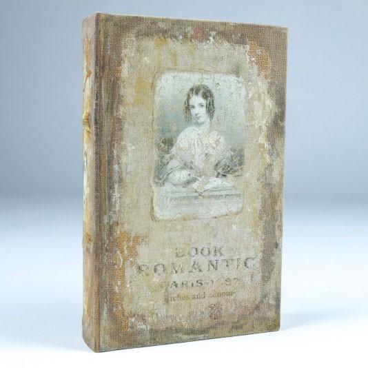 "Buch-Tresor ""Romantic"", L 5 cm, B 17 cm, H 26 cm"