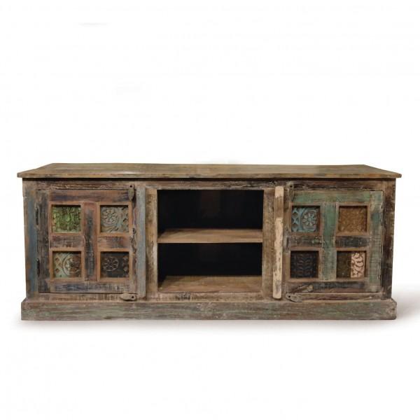 "TV-Board ""Parni"", braun, L 46 cm, B 153 cm, H 60 cm"