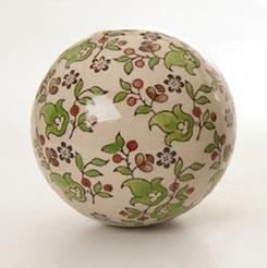 """Keramikkugel """"Sommer"""", Ø 10 cm"""