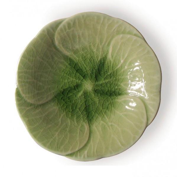 """Teller """"Plumeria"""", grün, Ø 16 cm"""