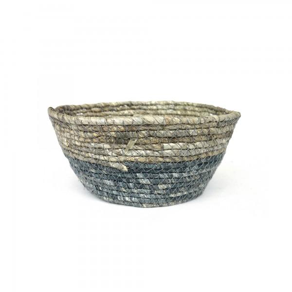 Korb 'Amares' S, natur, Ø 22 cm, H 11 cm