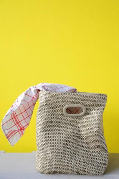 "Aufbewahrungsbox ""Charleroi"", beige, L 18 cm, B 28 cm, H 22 cm"