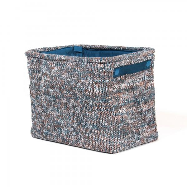 """Wollbox """"Kortrijk"""", grau, L 26 cm, B 36 cm, H 30 cm"""