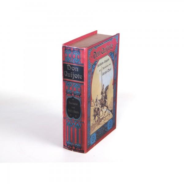 Buchhülle 'Don Quijote' mit Schließfach, L 18 cm, B 7 cm, H 27 cm