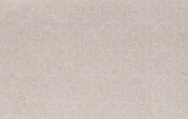"""Geschenkpapier """"Spirale weiß"""", handgeschöpft, L 51 cm, B 76 cm"""