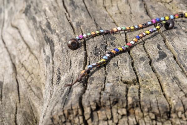 Armband 'Cavin', handgefertigt, multicolor