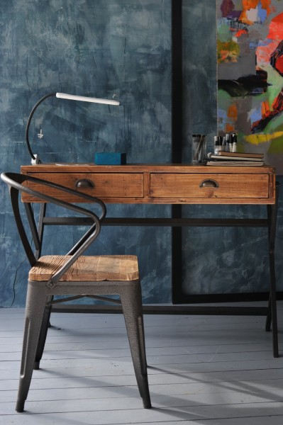 Stuhl 'Peckson', braun, schwarz, T 51 cm, B 53 cm, H 79 cm