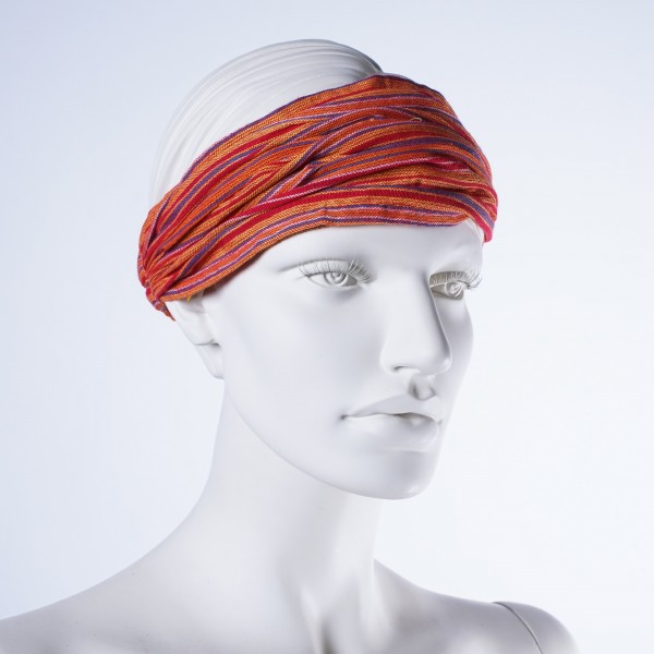 """Haarband """"Denver"""", aus 100% Baumwolle, orange/rot"""