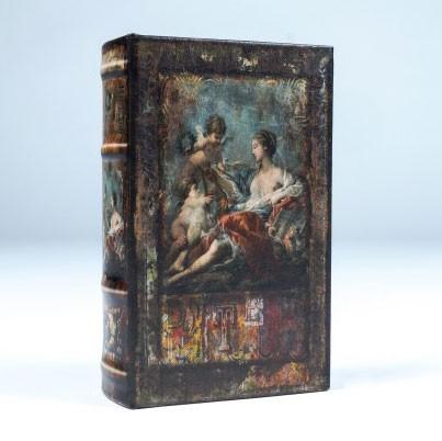 "Buch-Tresor ""Divine"", L 5 cm, B 11 cm, H 17 cm"