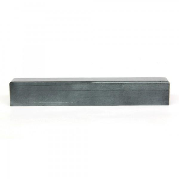 Box Räucherstäbchen grauer Speckstein, grau, T 30 cm, B 4 cm, H 5 cm