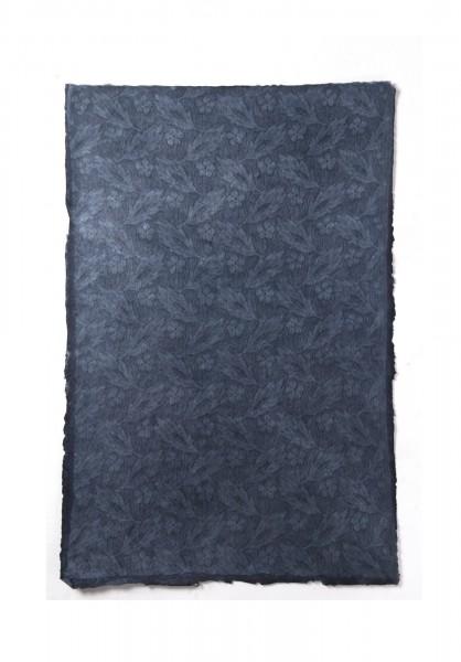 """Geschenkpapier """"Aquamarin"""", handgeschöpft, L 51 cm, B 76 cm"""